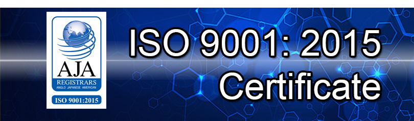 ISO 2001:2015 Certificate