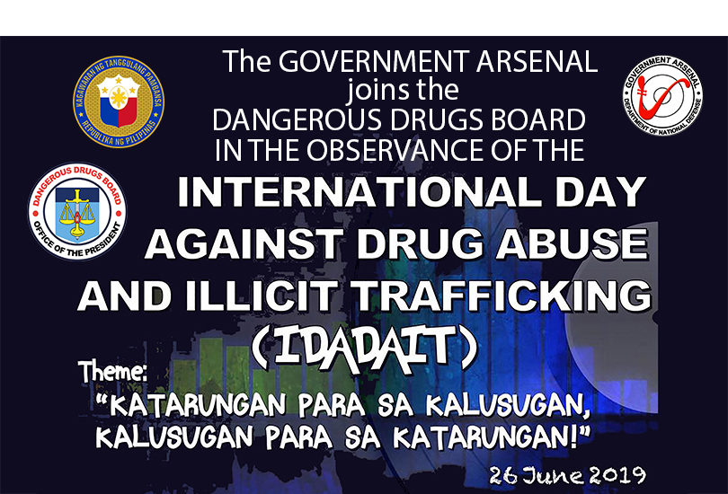 International Day Against Drug Abuse and Illicit Traficking