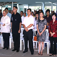Personalities who witnessed the turn-over ceremony.